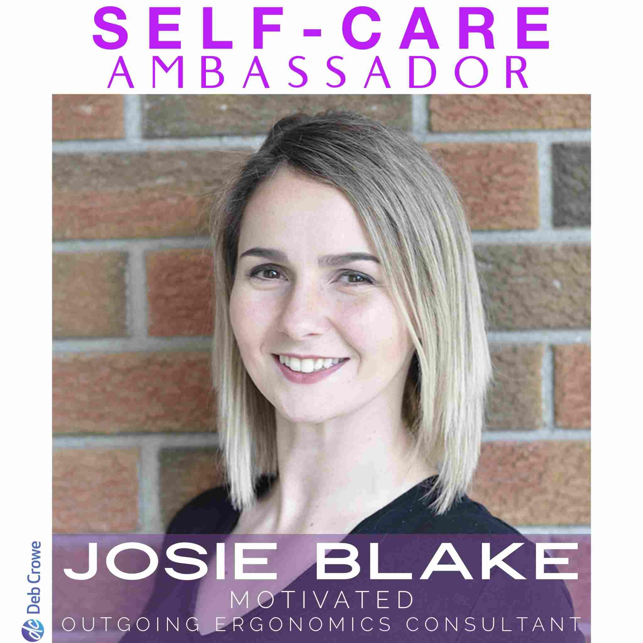 Deb Crowe Self-care Ambassador Ontario Women's Self Care Conference - Josie Blake