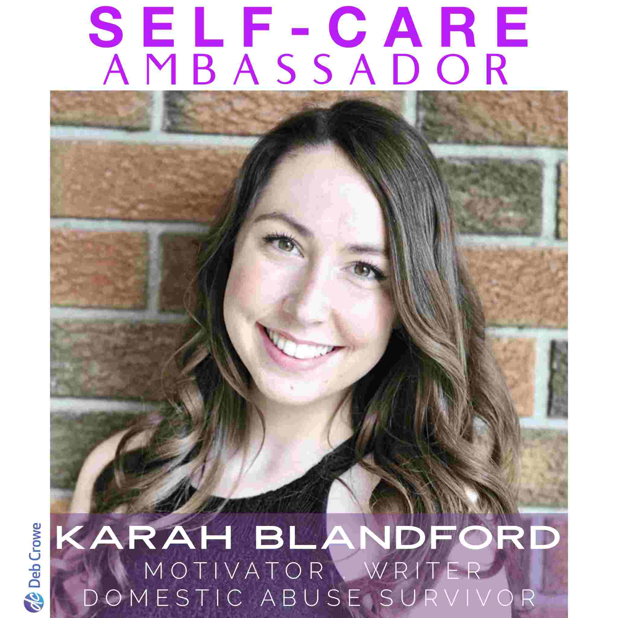 Deb Crowe Self-care Ambassador Ontario Women's Self Care Conference - Karah Blandford