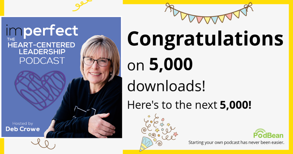 Our podcast has been downloaded over 5,000 times!